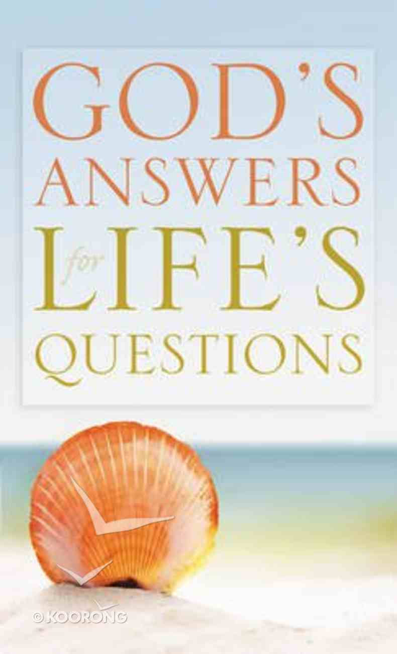 God's Answers For Life's Questions Mass Market