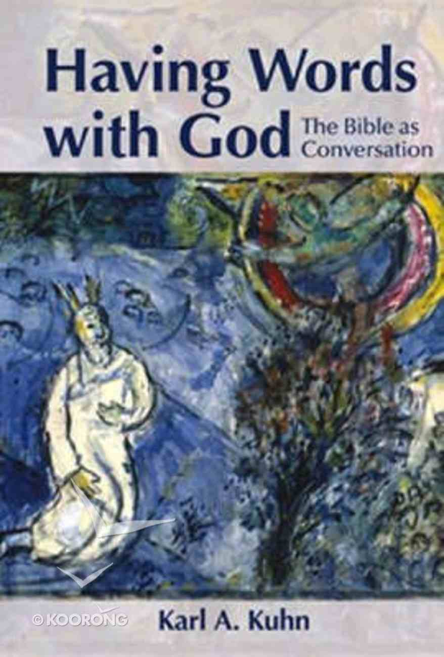 Having Words With God Paperback