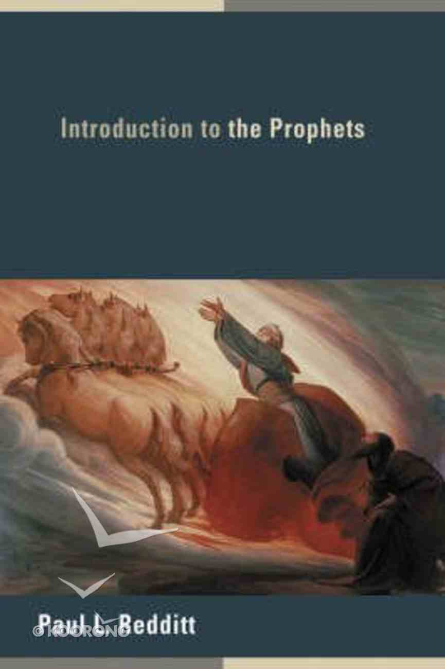 Introduction to the Prophets Paperback