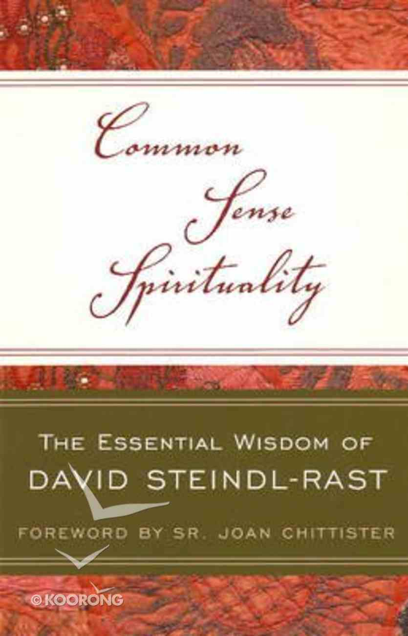 Common Sense Spirituality Paperback