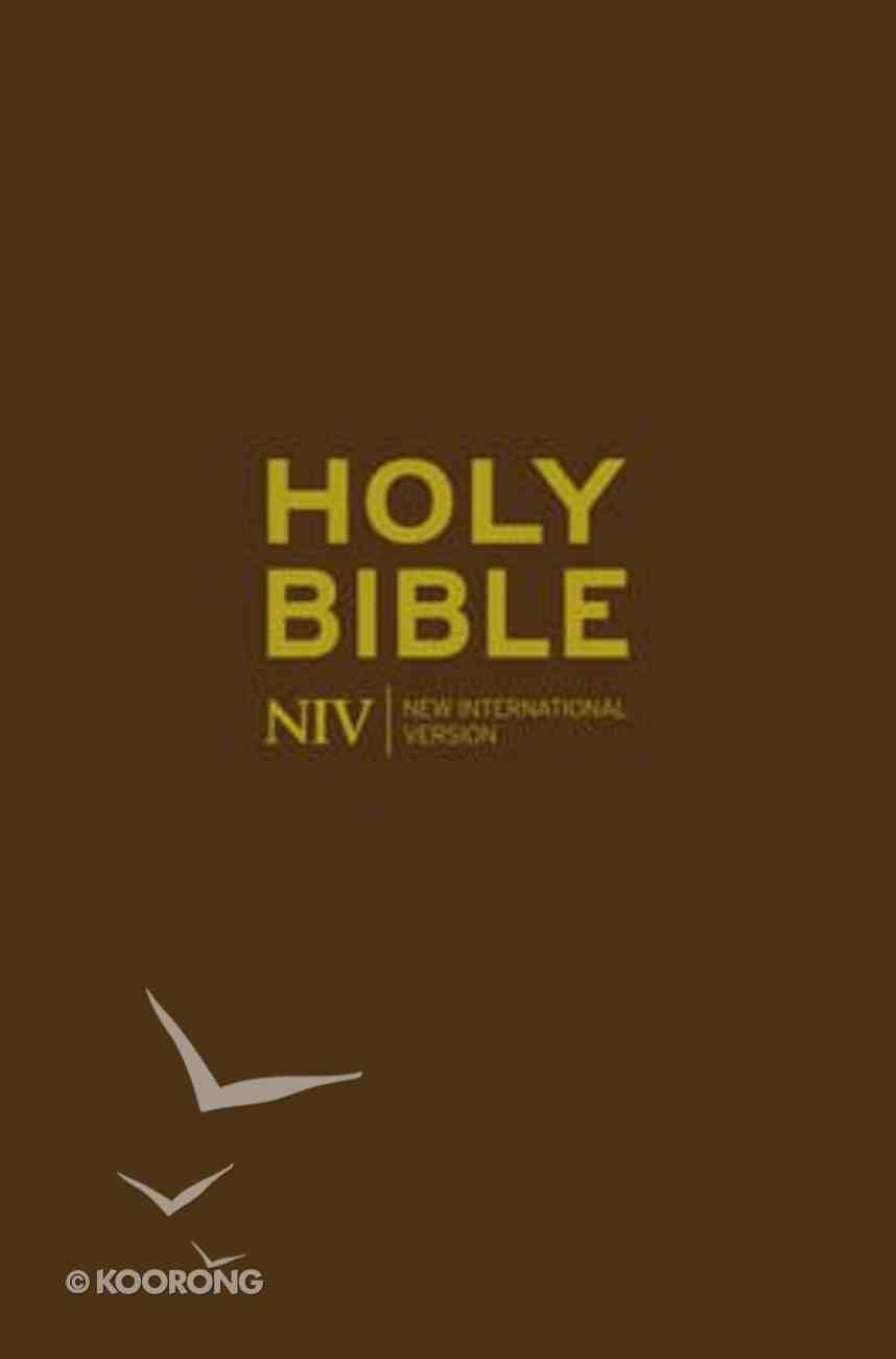 NIV Pocket Chocolate Flixibind Bible Imitation Leather