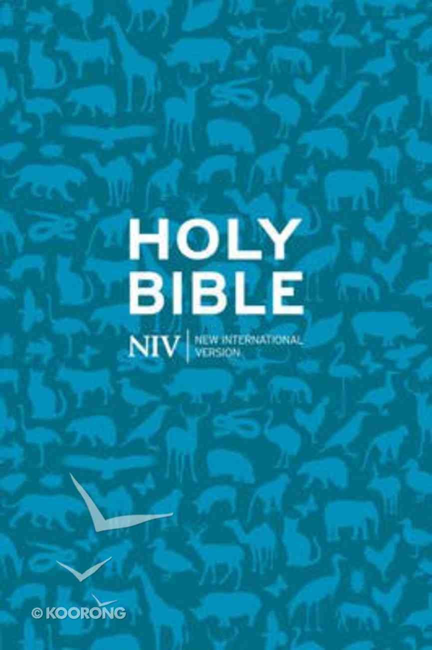 NIV Pocket Bible Blue Paperback
