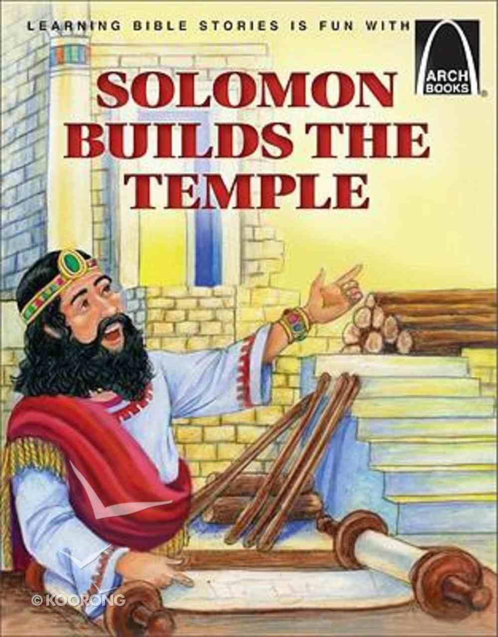 Arch Books: Solomon Builds a Temple Paperback