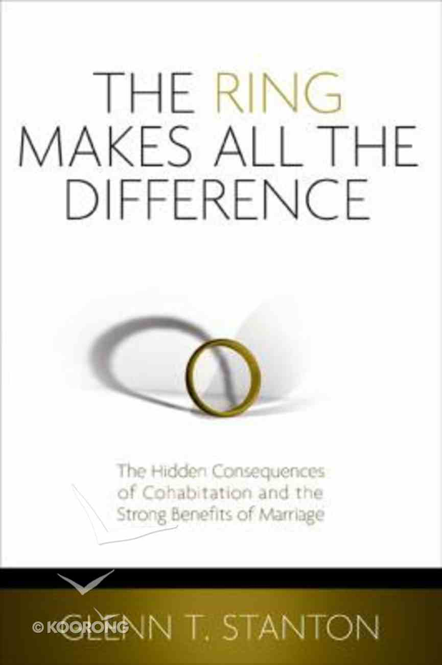 The Ring Makes All the Difference Paperback
