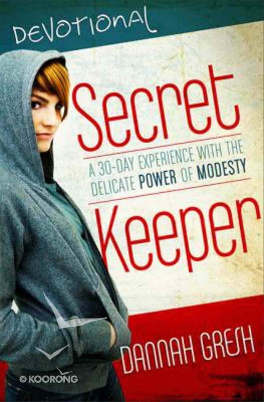 Secret Keeper Devotional Paperback