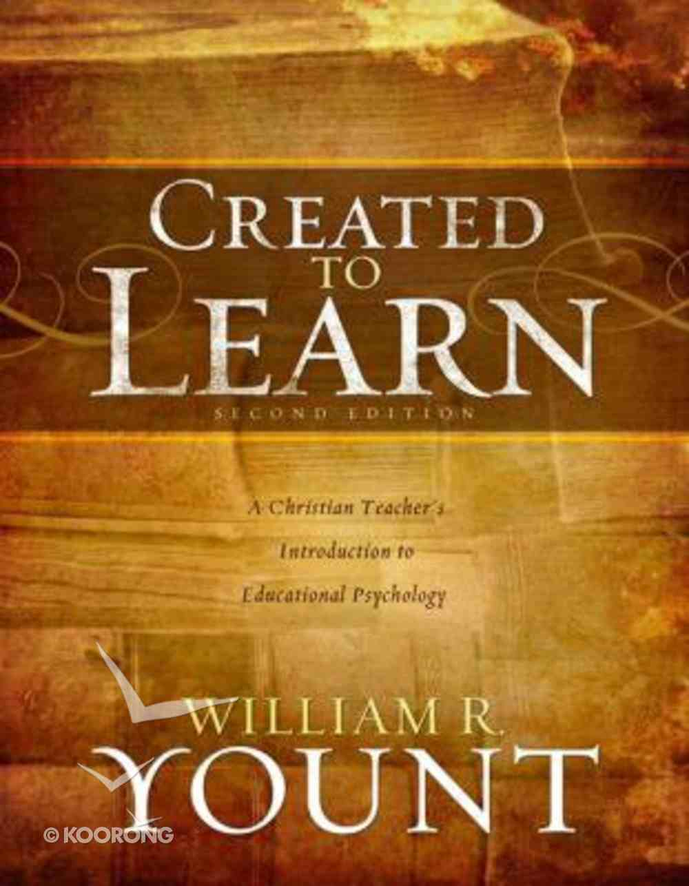 Created to Learn Paperback