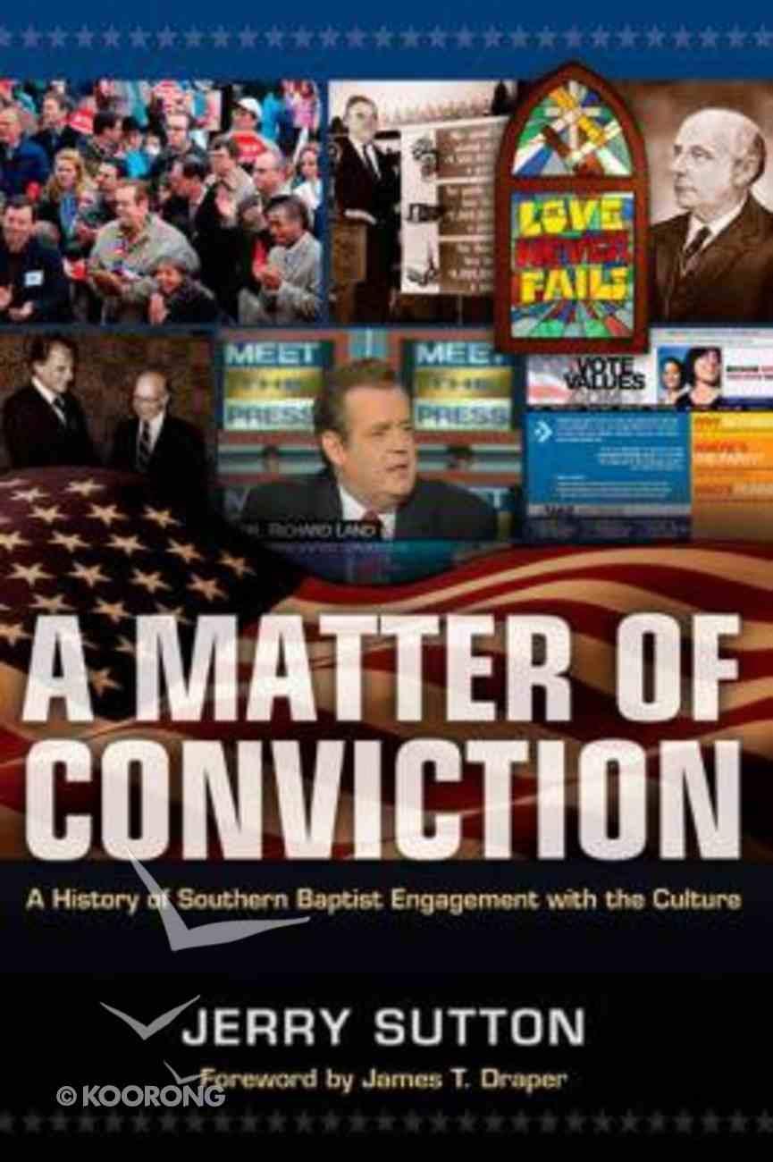 A Matter of Conviction Hardback