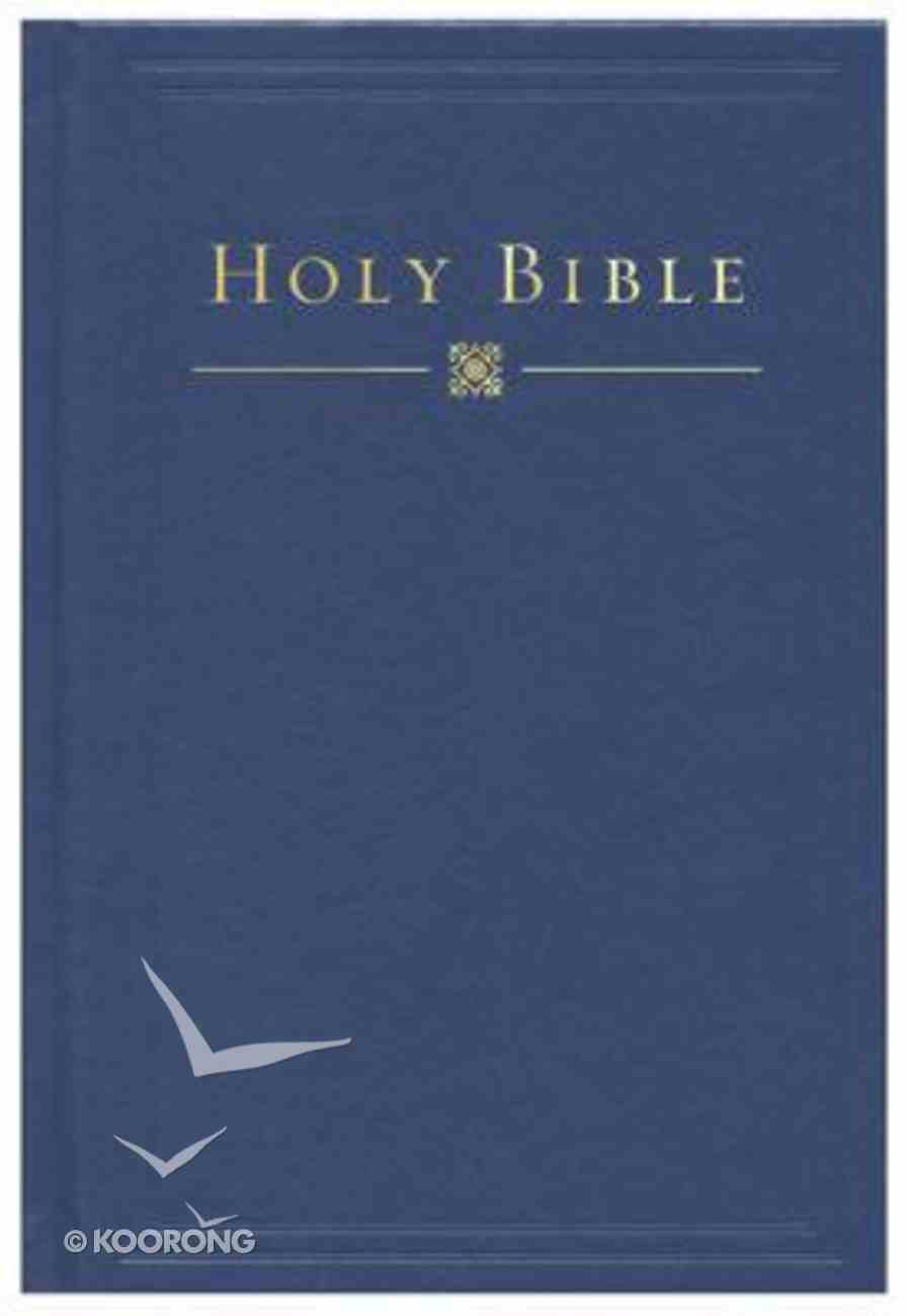 HCSB Pew Bible Blue Hardback