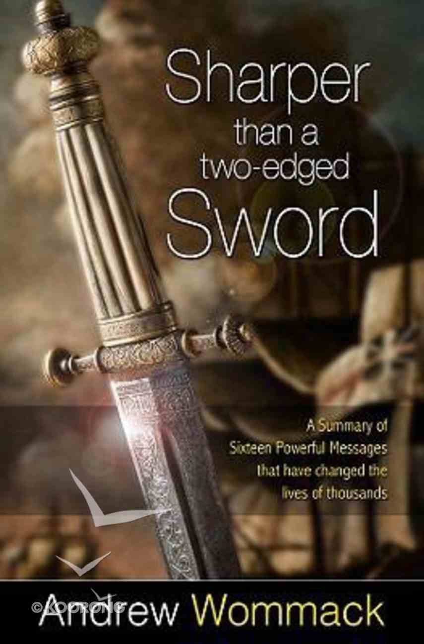 Sharper Than a Two-Edged Sword Paperback