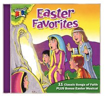 Album Image for Easter Favourites (Kids Classics Series) - DISC 1
