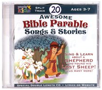 Album Image for 20 Awesome Bible Parable Songs & Stories - DISC 1