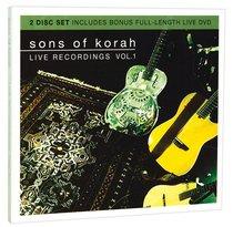 Album Image for Sons of Korah: Live Recordings Vol. 1 (Cd/dvd) - DISC 1