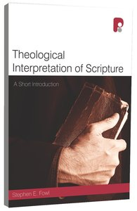 Product: Theological Interpretation Of Scripture Image