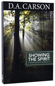 Product: Carson Classics: Showing The Spirit Image