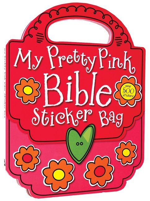 Product: My Pretty Pink Bible Sticker Bag (Activity Book) Image