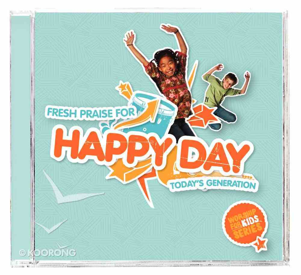 Happy Day (Worship For Kids) CD
