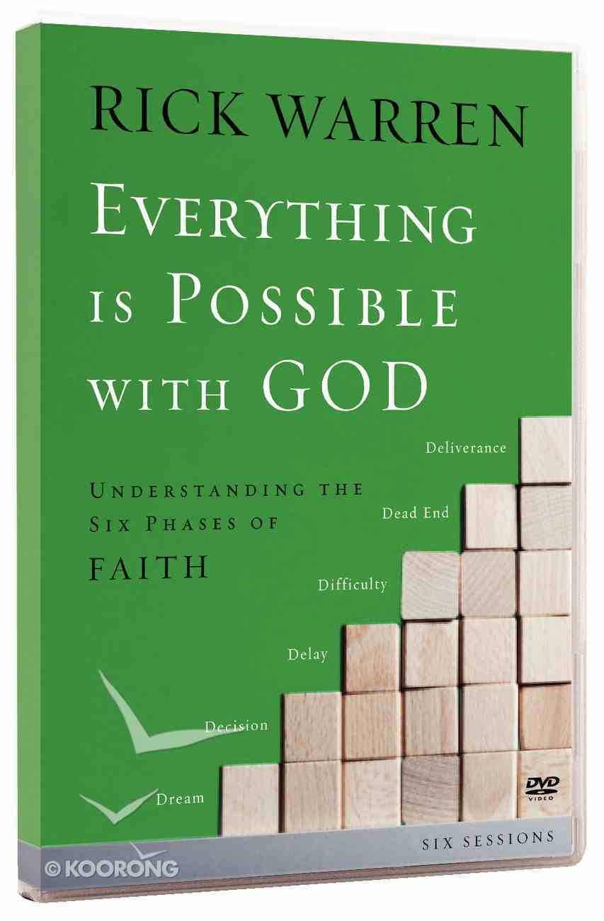 Everything is Possible With God (Dvd) DVD