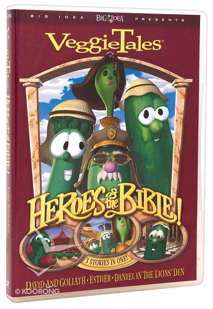 Lions, Shepherds and Queens (#01 in Veggie Tales Heroes Of The Bible Series) DVD