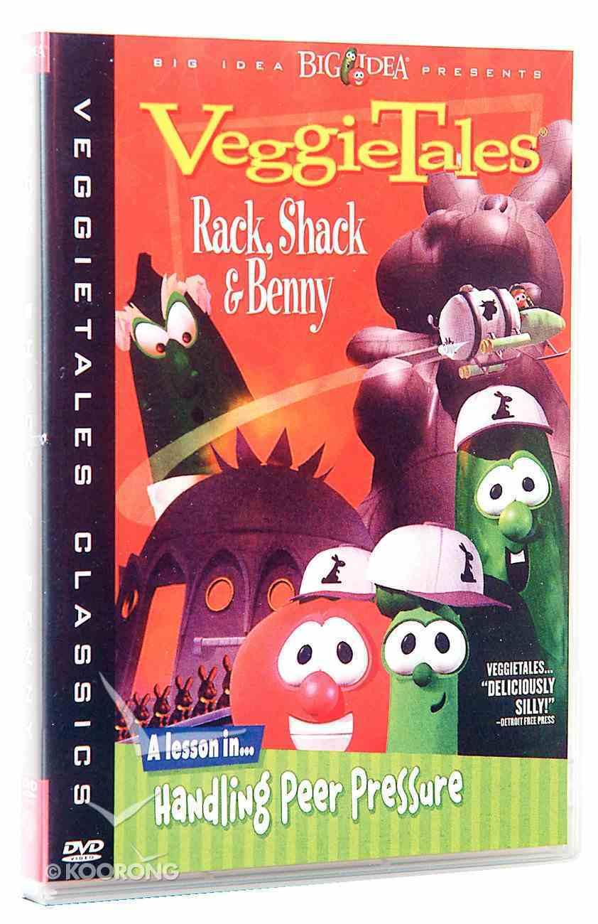 Veggie Tales #04: Rack, Shack and Benny (#004 in Veggie Tales Visual Series (Veggietales)) DVD