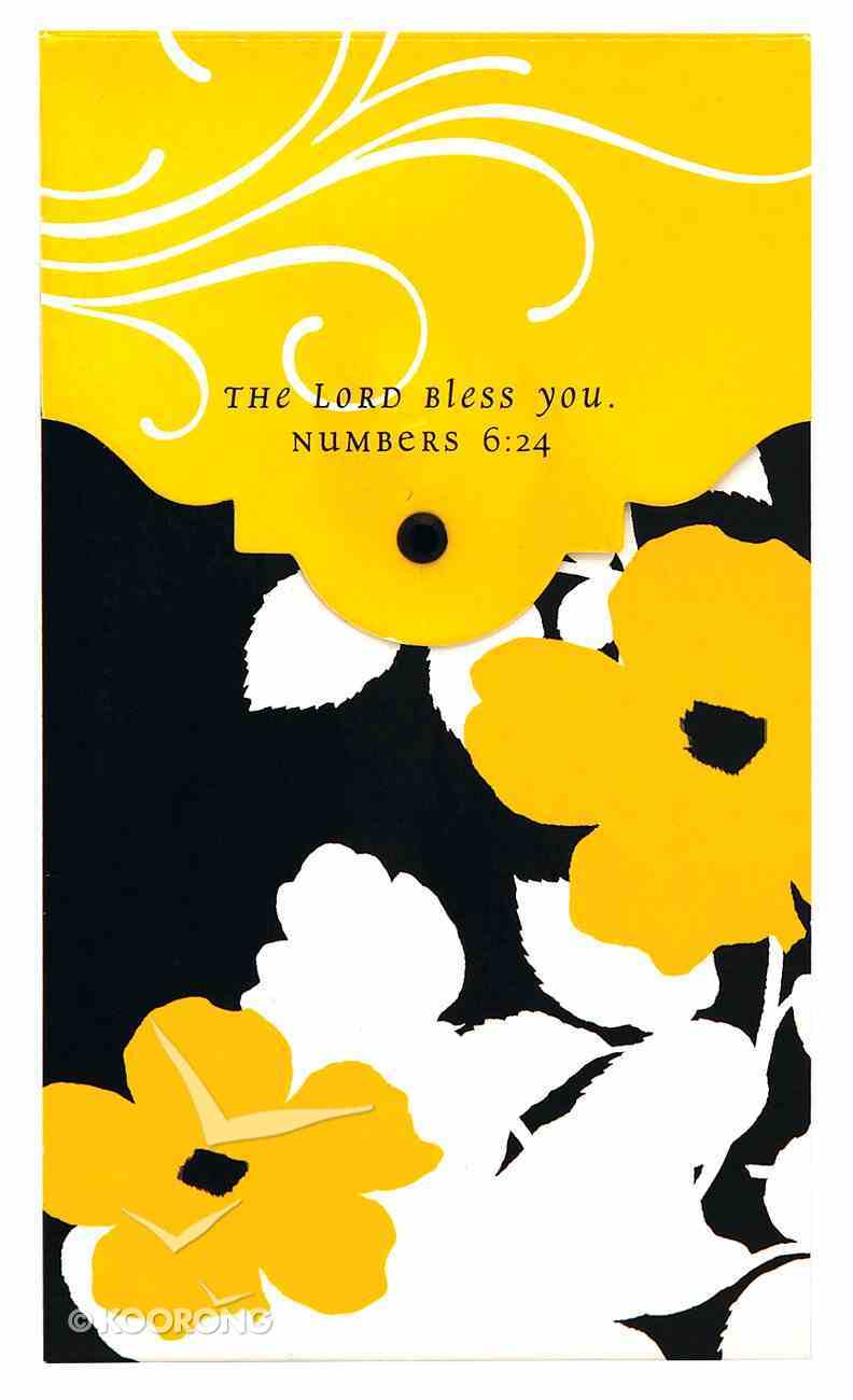 Premium Pocket Memos: Black and Gold, 75 Sheets, Scripture Stationery