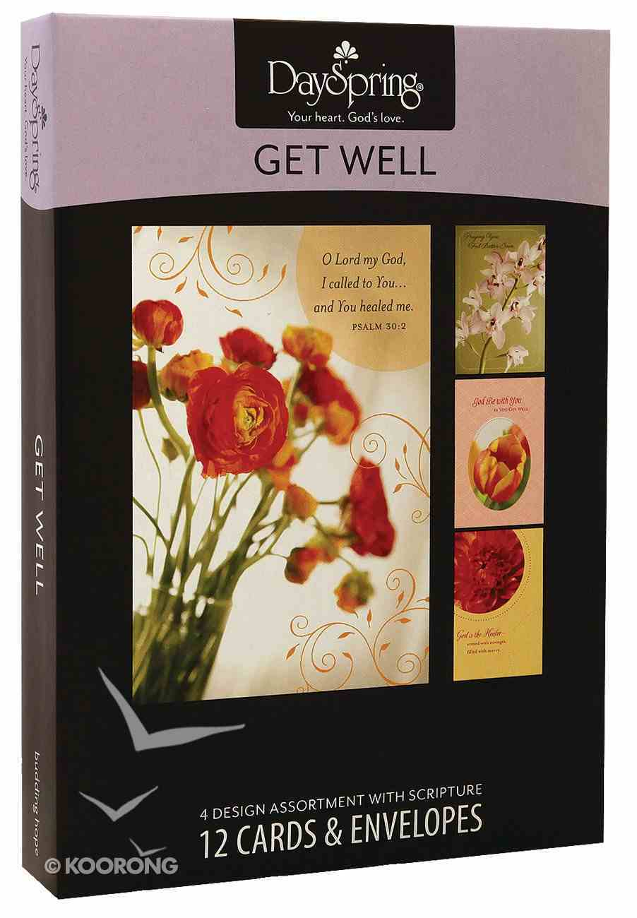 Boxed Cards Get Well: Budding Hope Box