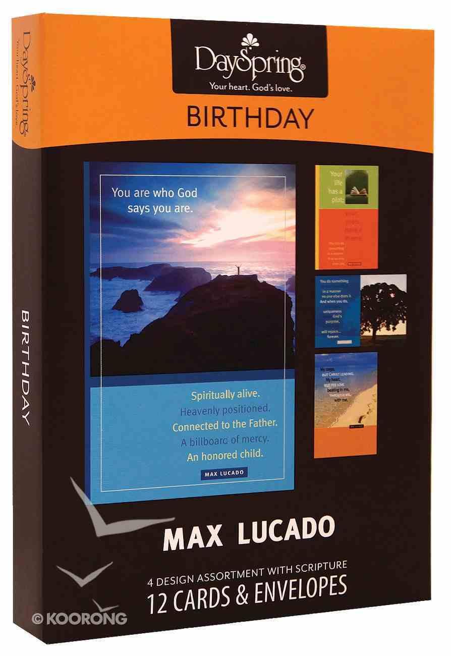 Boxed Cards Birthday: Max Lucado Box
