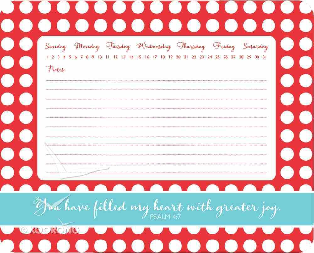 Everyday Joy: Memo Mousepad Polka Dot Stationery