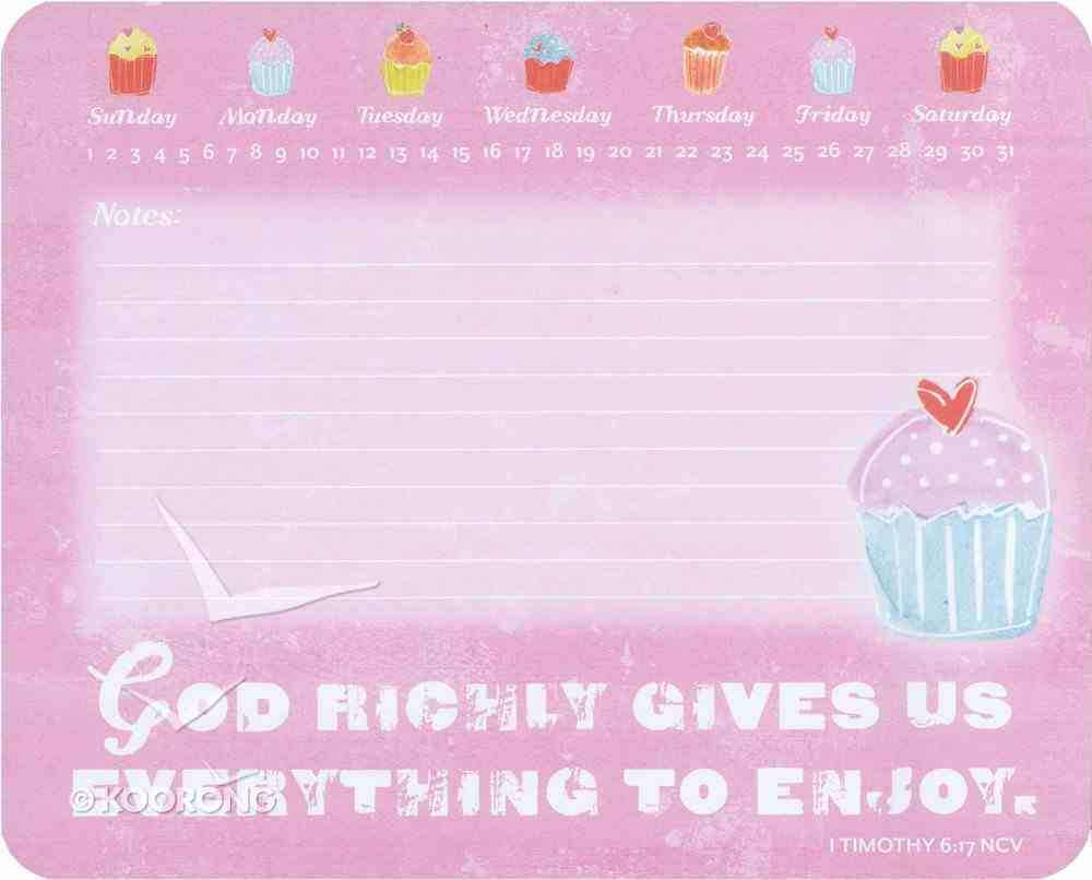 Sweet Gifts: Memo Mousepad Cupcakes Stationery