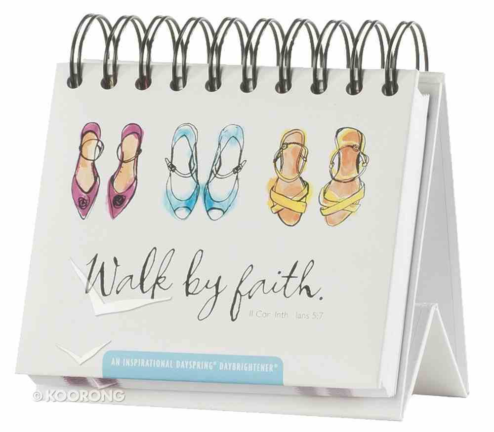 Daybrighteners: Walk By Faith (Padded Cover) Spiral