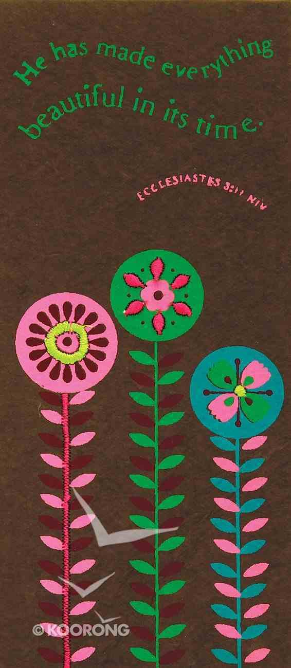 Cocoa Flower Memopad Stationery