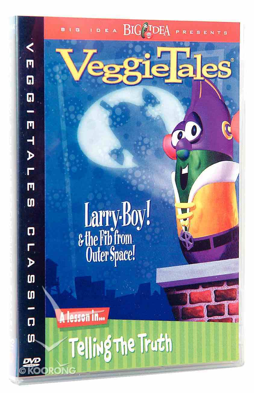 Veggie Tales #08: Larry Boy and the Fib From Outer Space (#08 in Veggie Tales Visual Series (Veggietales)) DVD
