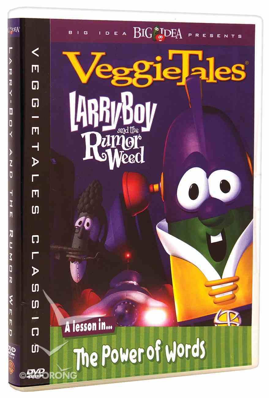 Veggie Tales #12: Larry Boy and the Rumor Weed (#12 in Veggie Tales Visual Series (Veggietales)) DVD