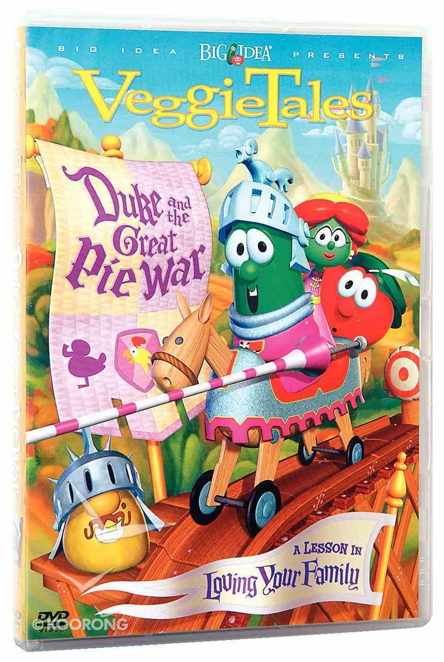 Veggie Tales #23: Duke and the Great Pie War (#023 in Veggie Tales Visual Series (Veggietales)) DVD