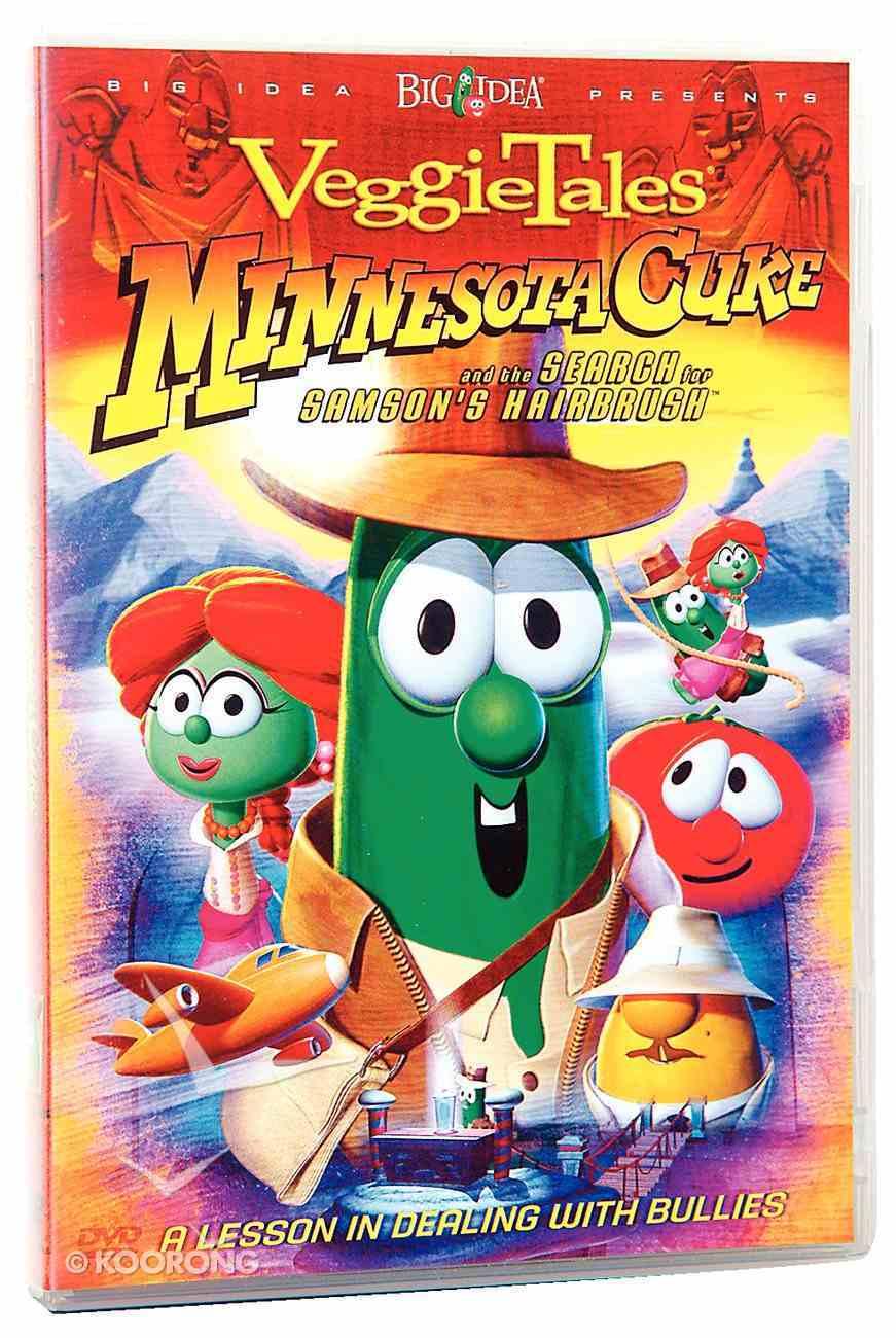 Veggie Tales #24: Minnesota Cuke & the Search For Samson's Hairbrush (#024 in Veggie Tales Visual Series (Veggietales)) DVD