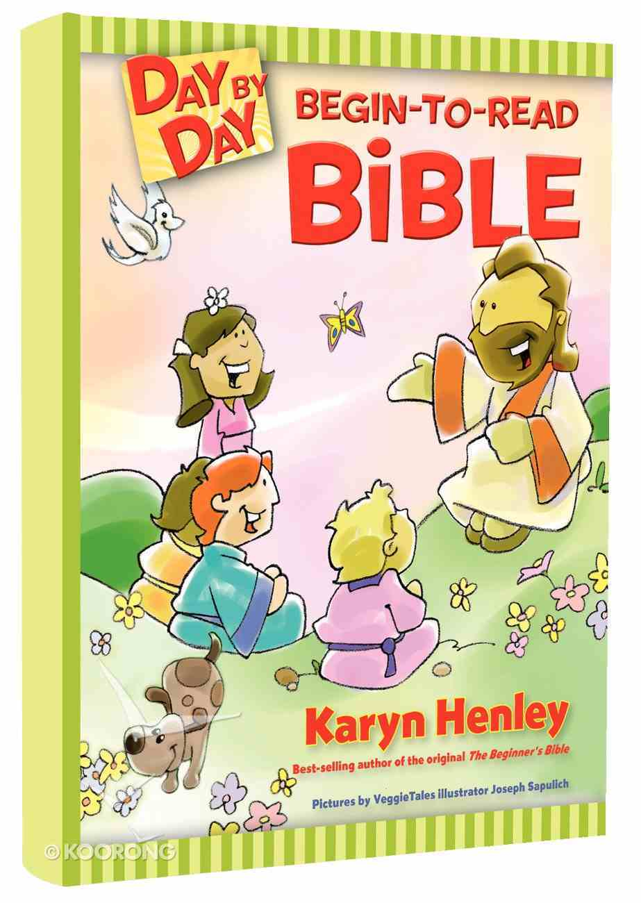 Day By Day Begin-To-Read Bible Hardback