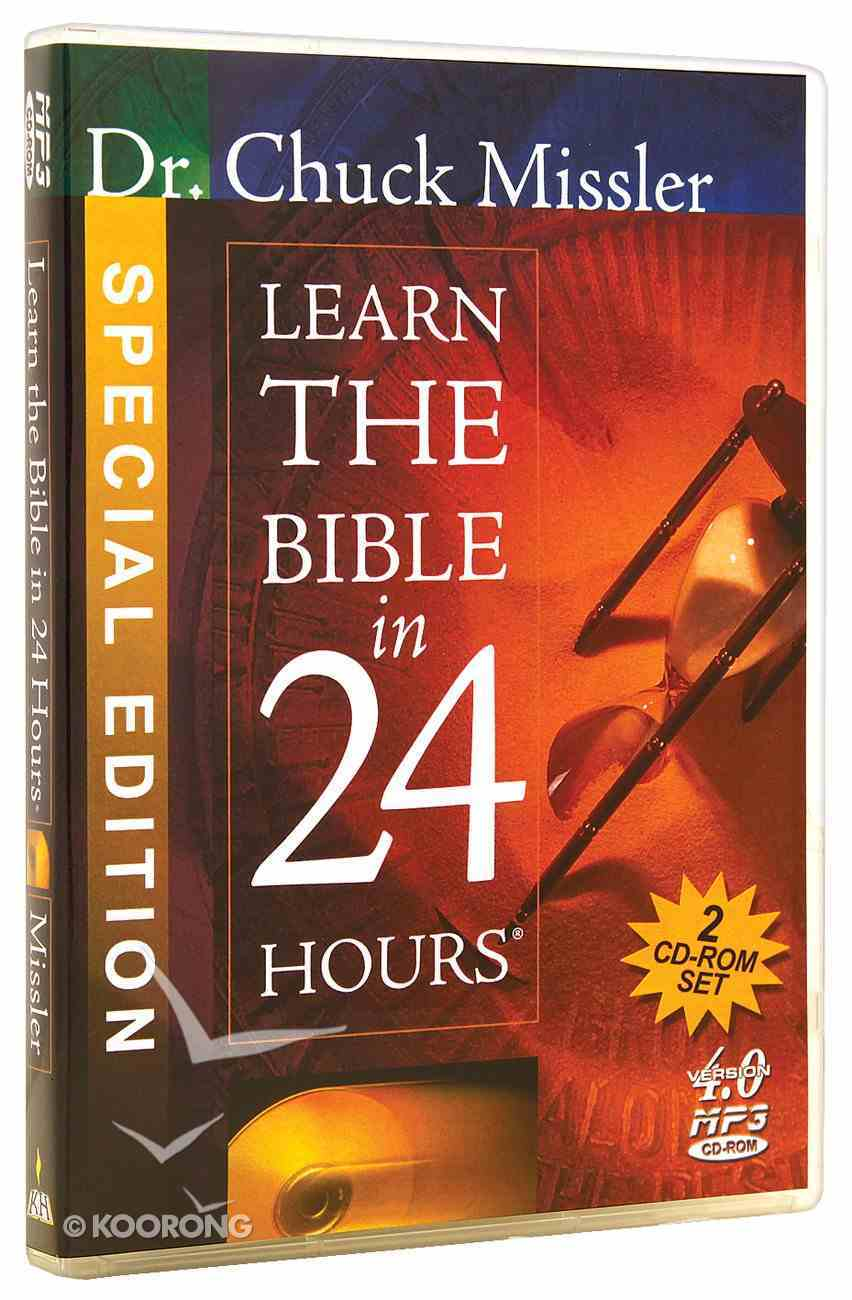 Learn the Bible in 24 Hours (Cdr) CD-rom