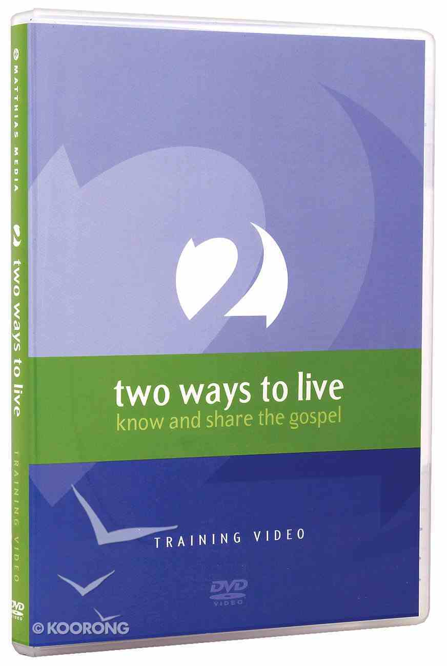 Two Ways to Live (Training Dvd) DVD