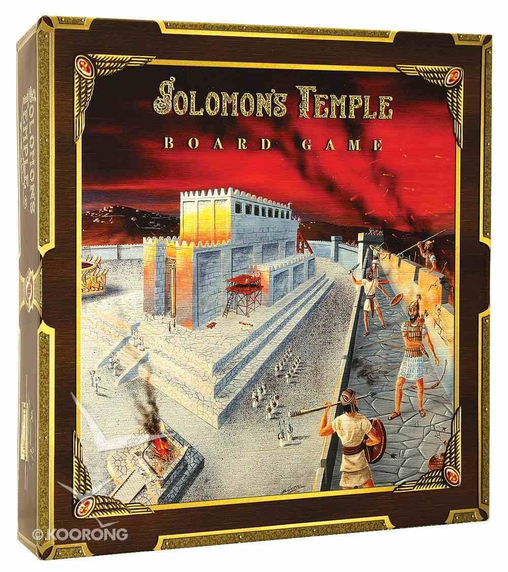 Board Game: Solomon's Temple Game