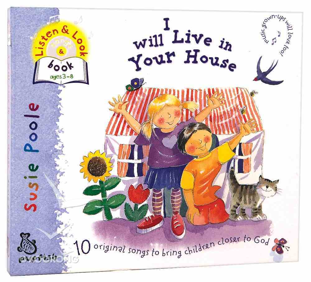 I Will Live in Your House CD (With Word Booklet) Pack