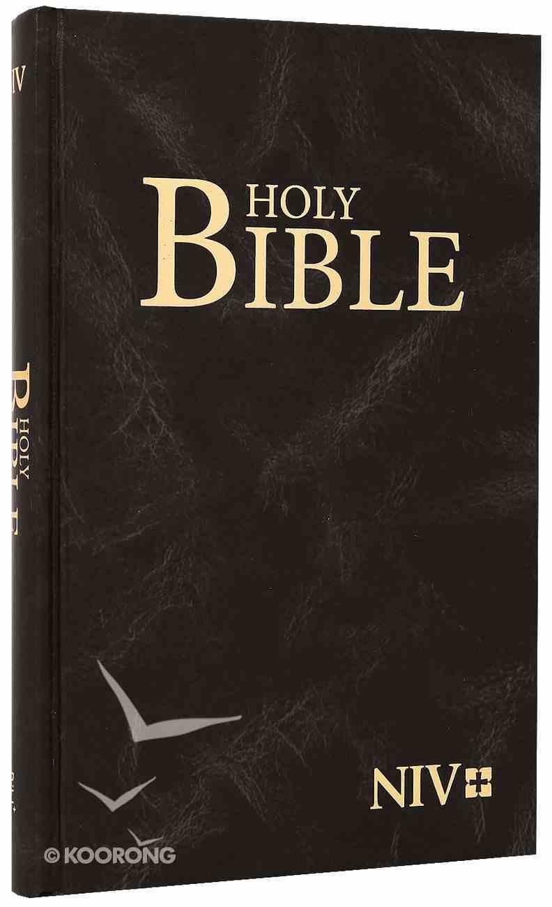 NIV Witness Black Bible Hardcover Hardback