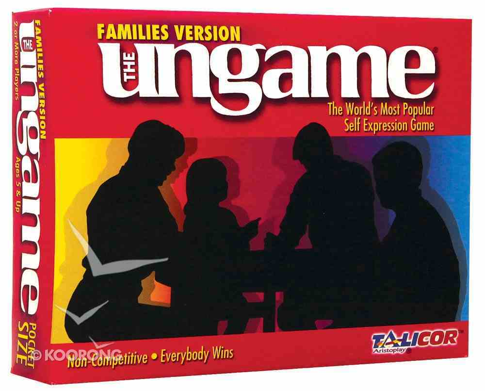 Ungame Pocket Families Version Game
