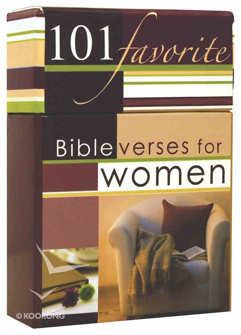 Box of Blessings: 101 Favourite Bible Verses For Women Box