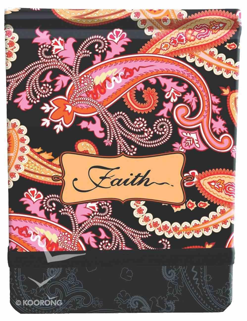 Notepad Fabric Printed: Faith Stationery
