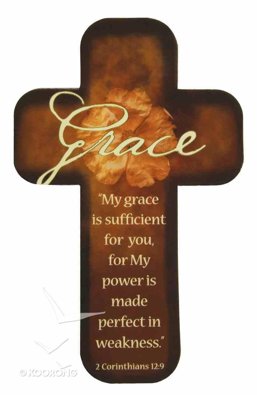 Cross Magnet: Grace Novelty