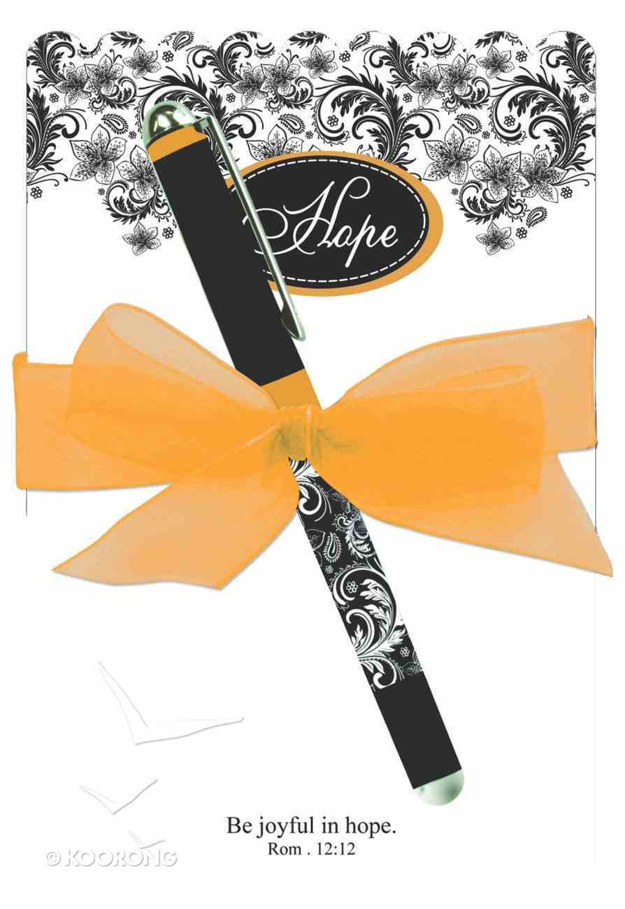 Memo Pad and Pen Gift Set: Hope Stationery