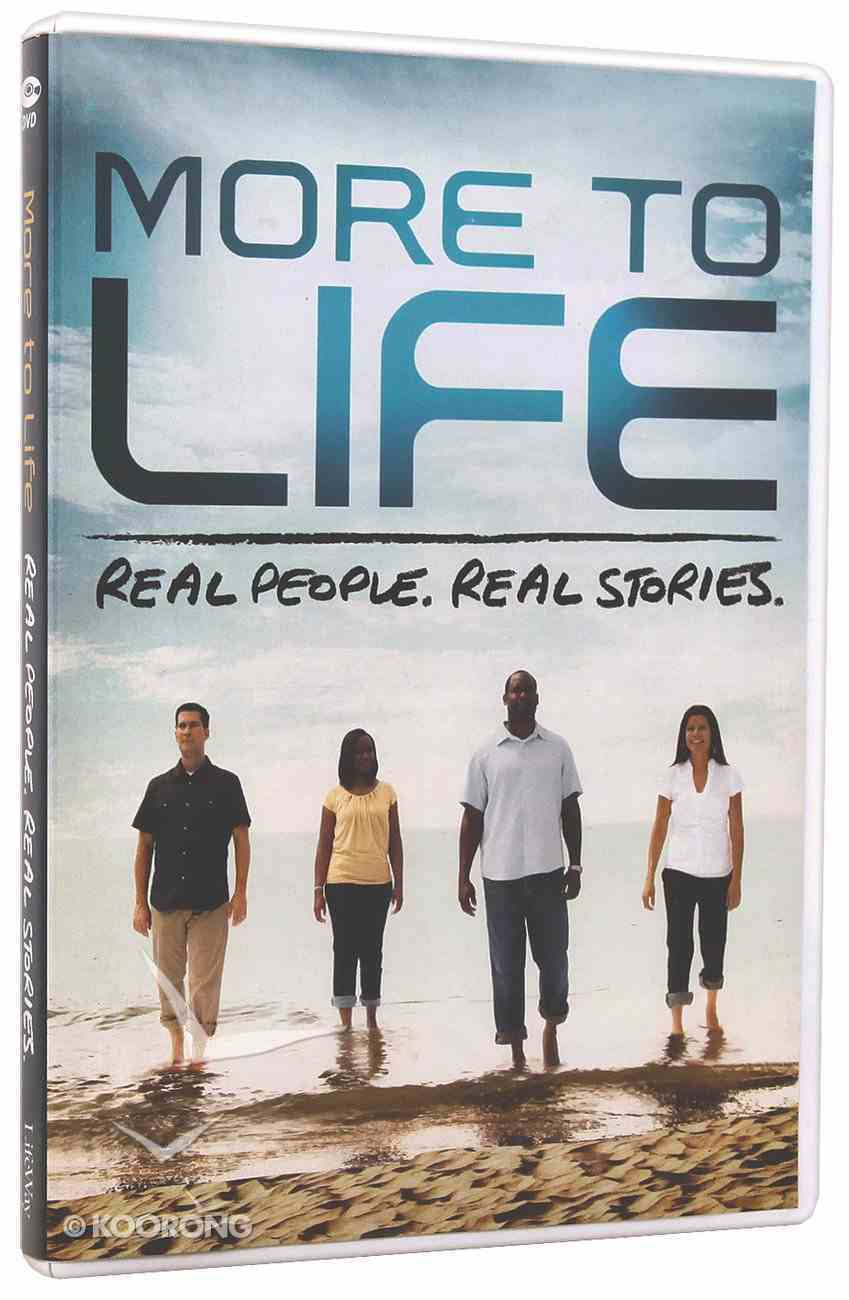 Real People. Real Stories (More To Life Series) DVD