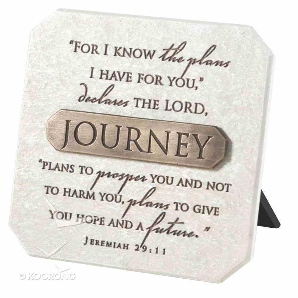 Plaque: Journey (Polyresin) Plaque