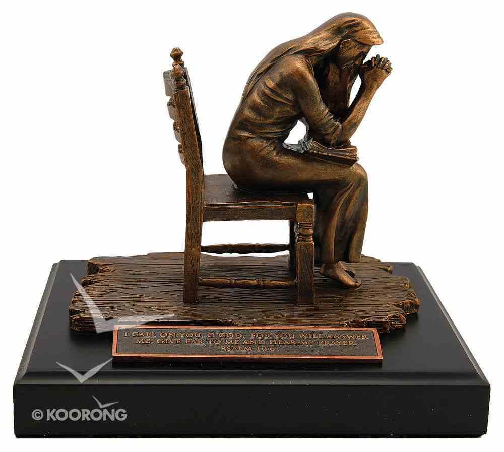 Moments of Faith Sculpture: Praying Woman Homeware