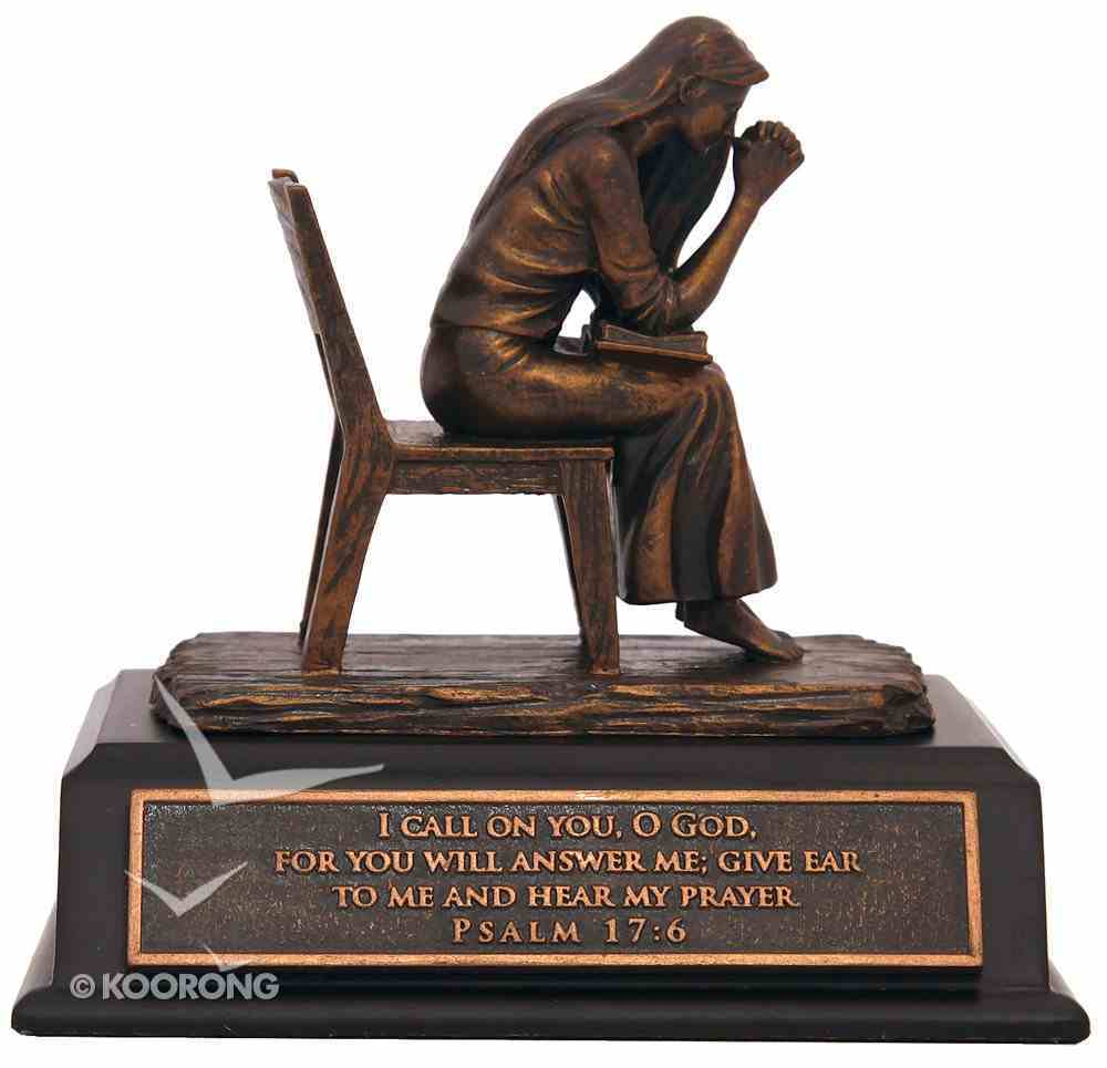 Small Moments of Faith Sculpture: Praying Woman Homeware