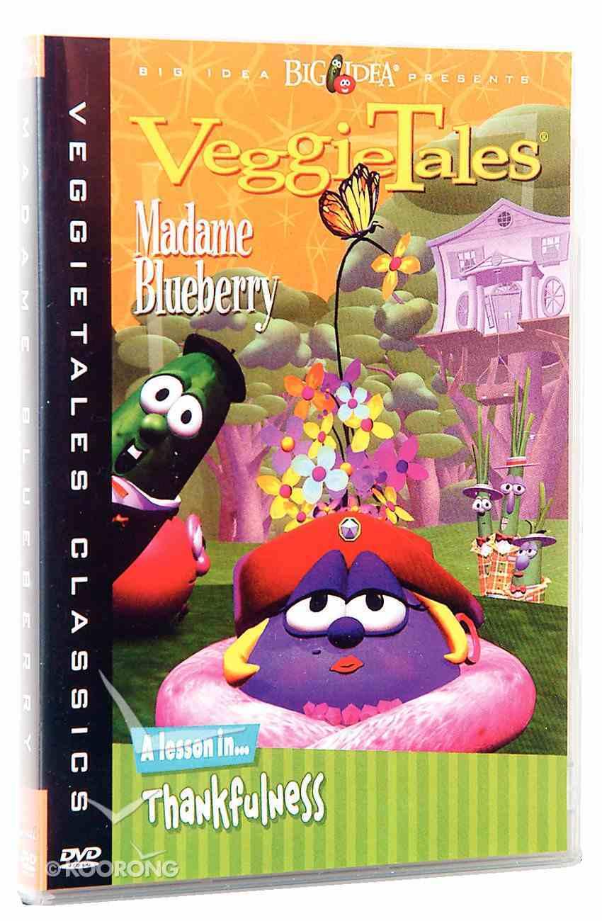 Veggie Tales #10: Madame Blueberry (#10 in Veggie Tales Visual Series (Veggietales)) DVD